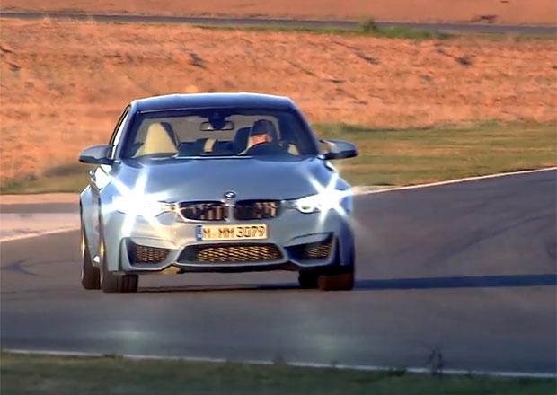 Video: BMW M3 klepe na dveře, výstavní premiéra se blíží