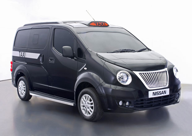 Nissan NV200 jako taxík pro Londýn: Speciální design představen