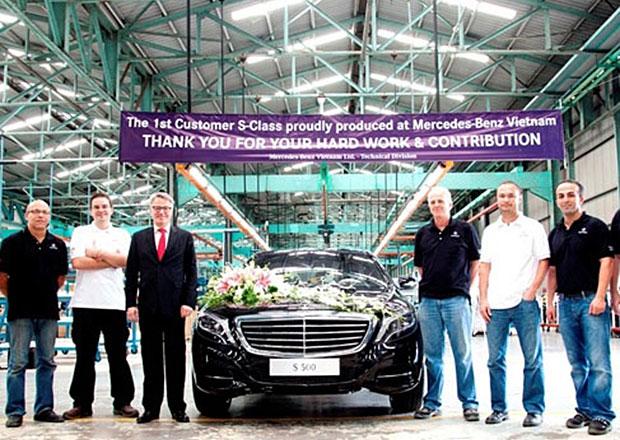 Nový Mercedes-Benz třídy S se začal montovat ve Vietnamu