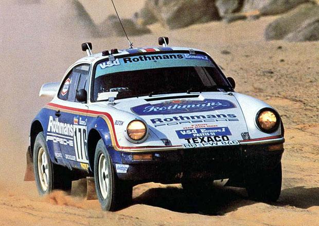 Porsche 953: 911 s pohonem v�ech kol vyhr�la Dakar p�ed 30 lety
