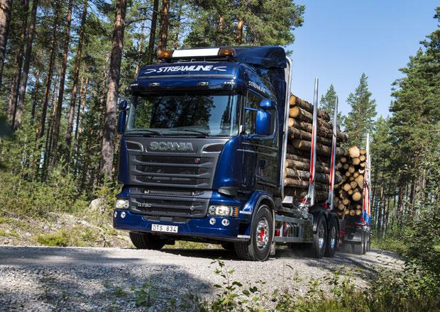 Scania Euro 6 je kompletní s motorem V8