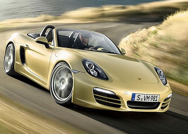 Porsche v roce 2013: R�st prodej� o 15 %, �sp�ch Boxsteru a Caymanu