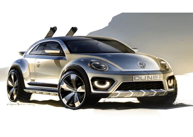 Volkswagen Beetle Dune: Náznak zvažovaného crossoveru