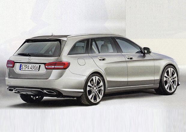 Mercedes-Benz C kombi: Zdařilá vize možné podoby