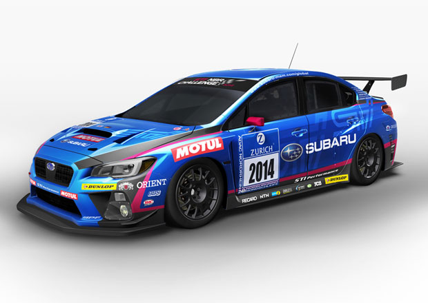 Nové Subaru WRX STI pojede v červnu v Zeleném pekle