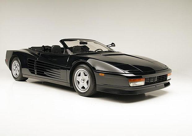 Ferrari Testarossa Spyder po Michaelu Jacksonovi se bude dražit v Arizoně
