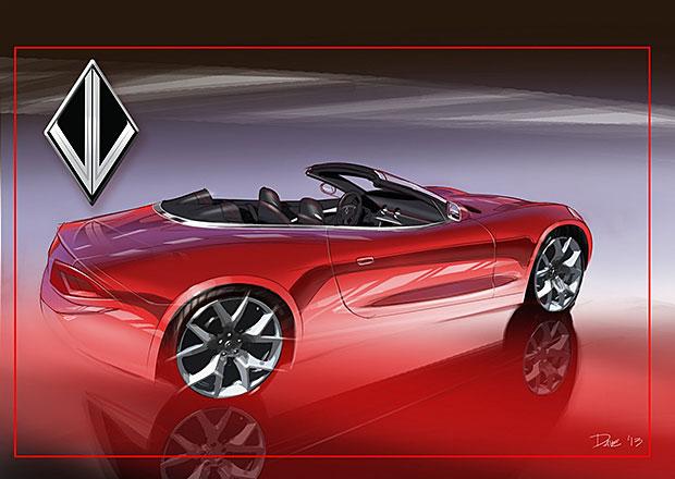 VL Destino Convertible: Benzinový Fisker Karma v otevřené verzi