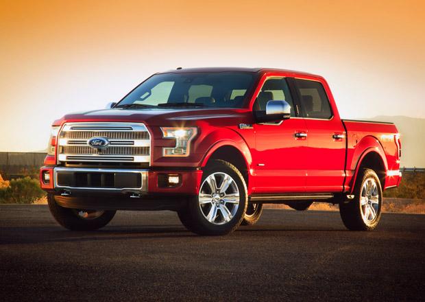 Ford F-150 2015: Až o 300 kg lehčí, nový motor 2.7 EcoBoost