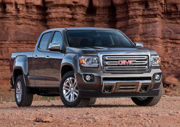GMC Canyon: Dvojče Chevroletu Colorado přijíždí