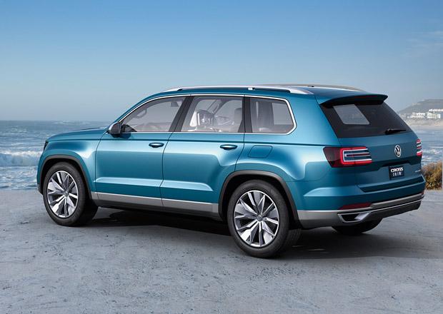 Volkswagen CrossBlue: Sedmimístný crossover se začne prodávat v roce 2016