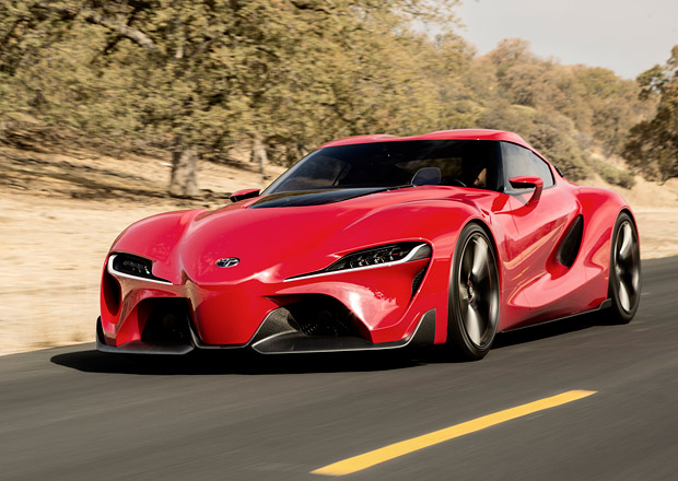 Toyota FT-1 naznačuje podobu nové Supry (+video)