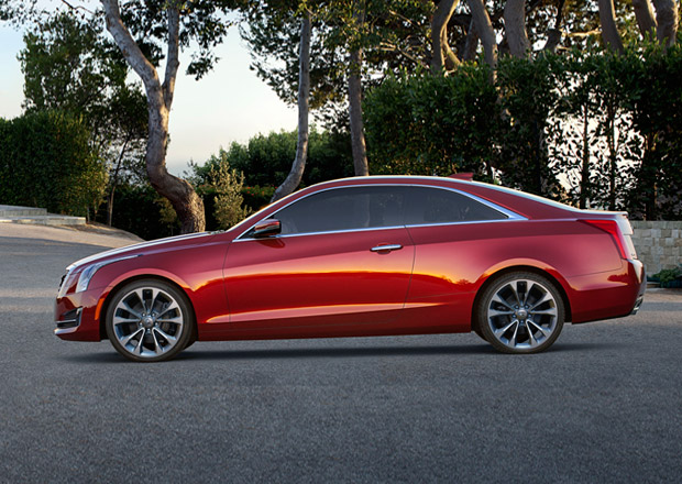 Cadillac ATS Coupe: Americký soupeř pro BMW 4