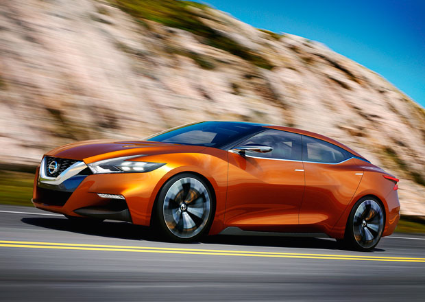 Nissan Sport Sedan Concept: Maxima na steroidech