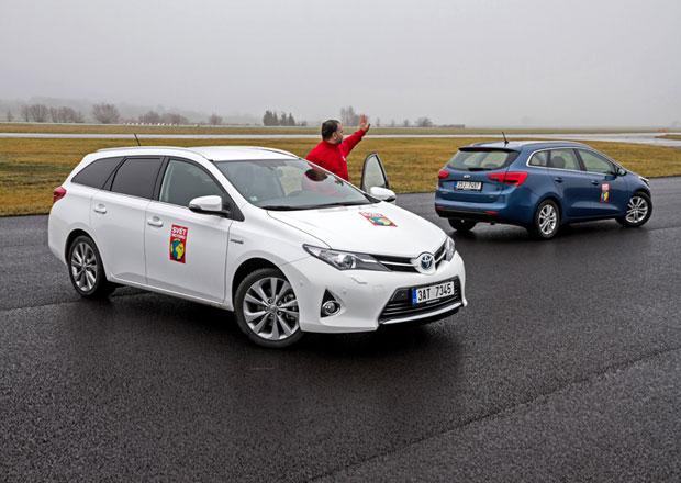 Kia Cee�d SW 1.6 CRDi vs. Toyota Auris Hybrid