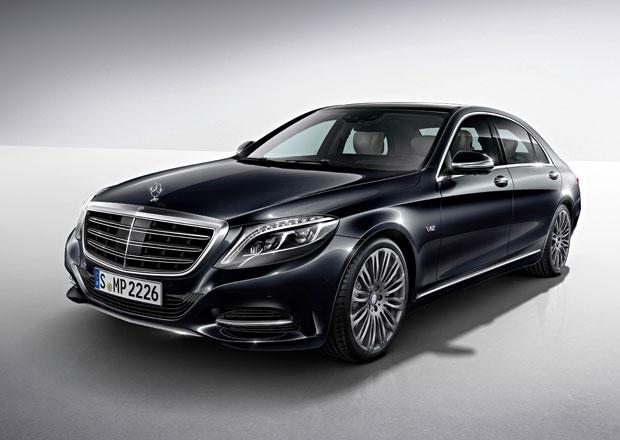Mercedes-Benz S 600: S větším motorem, přesto úspornější