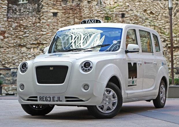 Metrocab: Elektrický taxík míří do Londýna