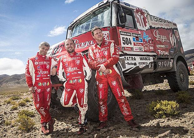 Dakar 2014: 13. etapa – Cíl spatřila polovina startovního pole, mezi nimi také Češi