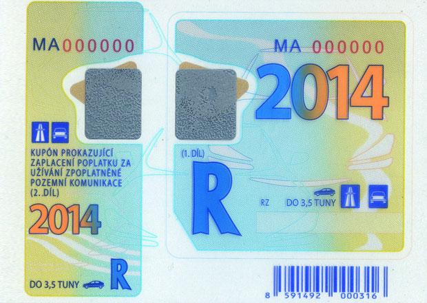 Zájem o roční dálniční známky v prosinci poklesl