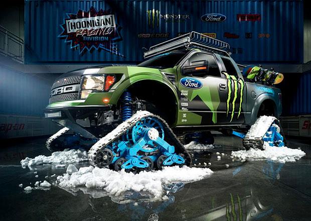 Ford Raptor Trax je novou hračkou Kena Blocka
