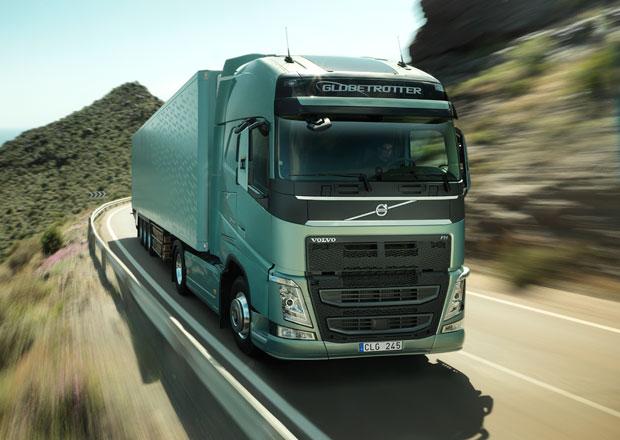 Nová aplikace Volvo Trucks pomáhá šetřit palivo