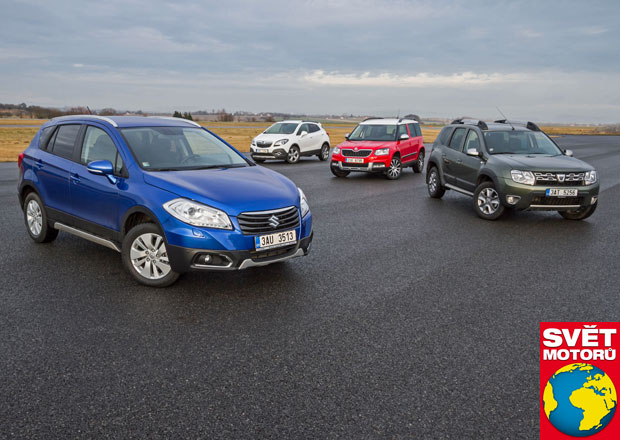 Dacia Duster vs. Opel Mokka vs. Suzuki SX4 S-Cross vs. Škoda Yeti