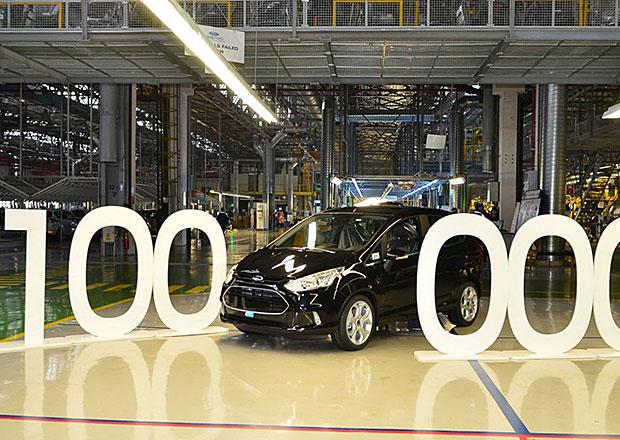 Ford vyrobil B-Max s po�adov�m ��slem 100.000 (+video)