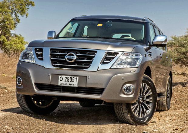 Nissan Patrol: Nové fotografie faceliftu pro modelový rok 2014