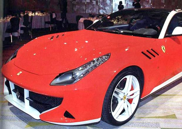 Ferrari SP FFX: Zakázková přestavba s obskurním designem
