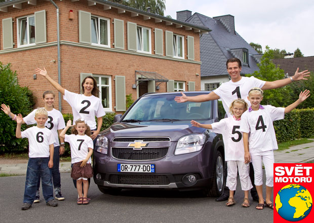 Sedmimístné osobní vozy na českém trhu: Šťastná 7
