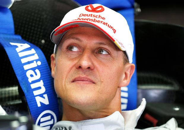 Michael Schumacher u soudu: Stále upoután na lůžko