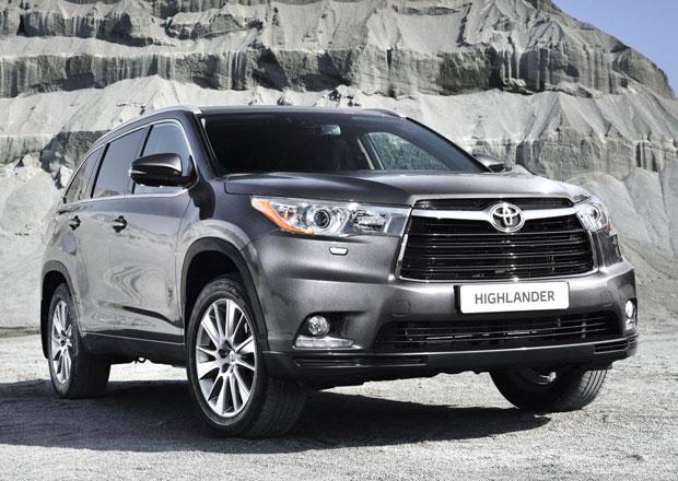 Toyota Highlander p�ich�z� do Evropy, ale jen t� v�chodn�