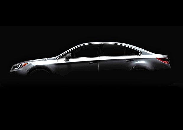 Nové Subaru Legacy se odhaluje na první fotce