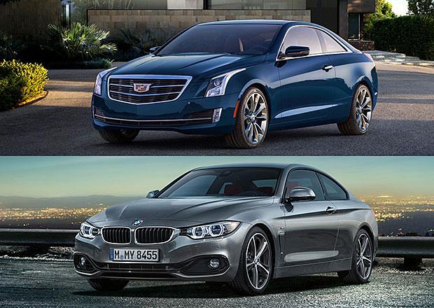 Designový duel: BMW 4 vs. Cadillac ATS Coupe