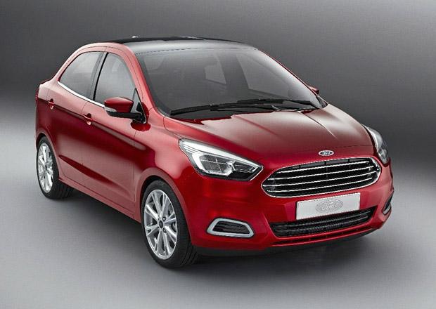 Ford Figo: Nové Káčko s karoserií sedan