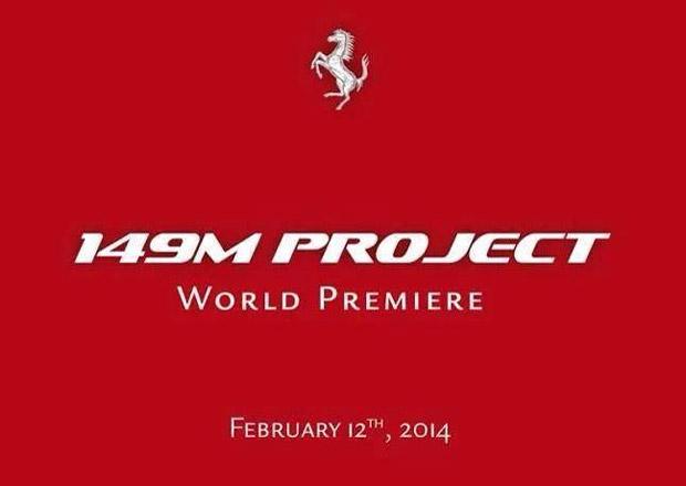 Ferrari 149M: Nová California se ukáže příští týden
