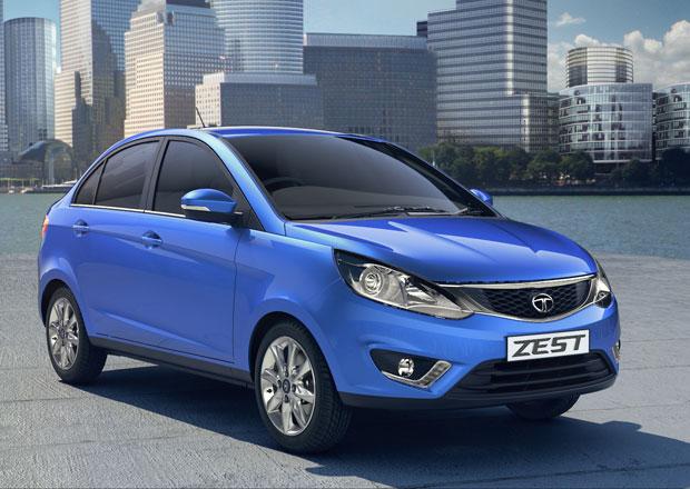 Tata Zest a Bolt: Mini sedan a hatchback nejen pro Indii