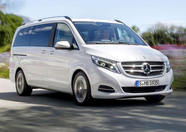 Mercedes-Benz V se začne prodávat nejdříve jako luxusní Edition 1