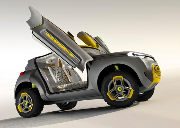 Renault Kwid: Indický koncept crossoveru se vzdušnou technikou