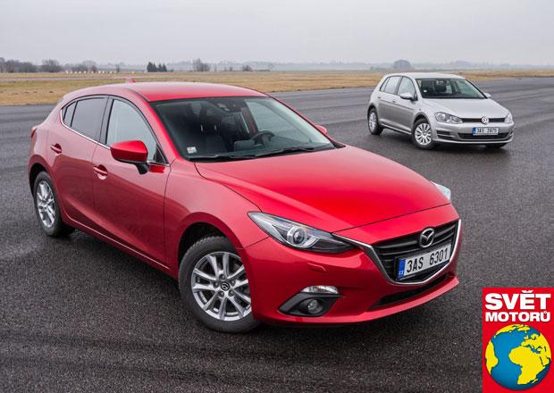 Mazda 3 1.5 Skyactiv G100 vs. VW Golf 1.2 TSI