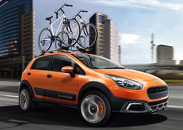 Fiat Avventura: Punto Scout debutuje v Indii