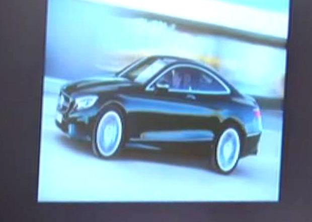 Mercedes-Benz uk�zal prvn� fotografii t��dy S Coup�