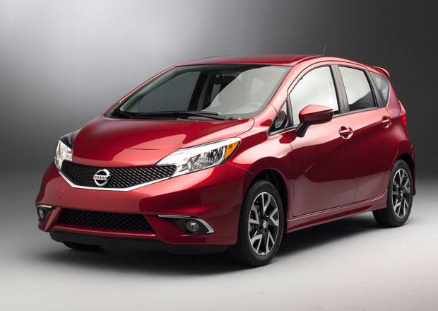 Nissan Note SR: Sportovní verze má jen motor 1,6 l/81 kW