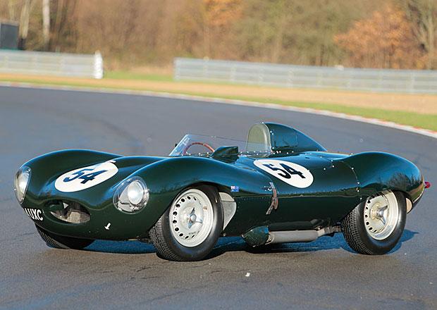 Jaguar D-Type z roku 1955 prodán za 96 milionů korun