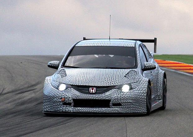 Honda Civic: Široká ramena pro WTCC 2014