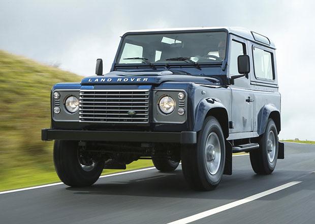 Land Rover Defender letos neskončí