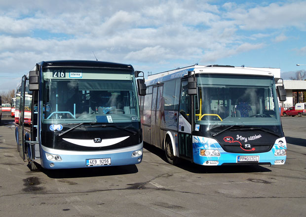 Dopravní podnik v Praze testuje elektrobus značky SOR