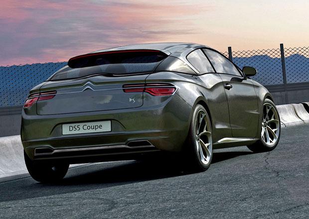 Citroën DS5 Coupe: Belgická vize budoucnosti