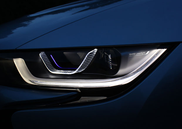 Laserová světla: U BMW k mání již na podzim