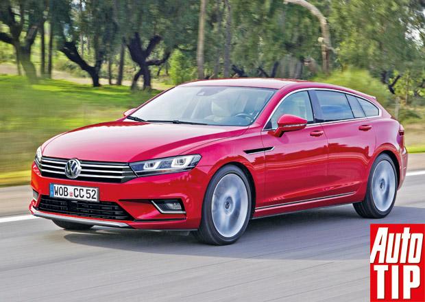 Volkswagen CCS: V�ichni cht�j� shooting brake!