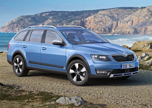 Škoda Octavia Scout: Premiéra v Ženevě, prodej od září